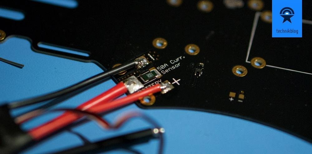 Beim Eigenbau eines Multicopters sind auch Lötarbeiten gefragt.