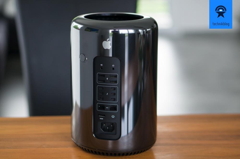 Anschlüsse am Mac Pro - vor allem Thunderbolt und USB 3.0 ist gefragt!