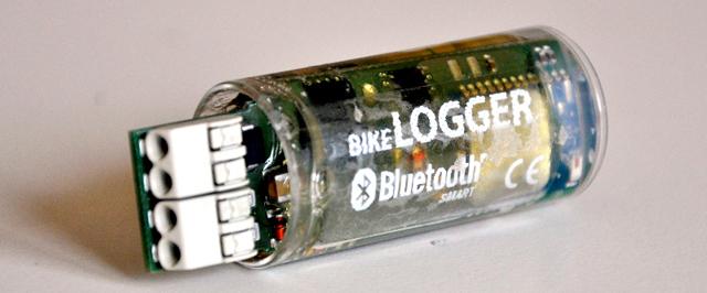 BikeLogger C für die Montage in der Gabel