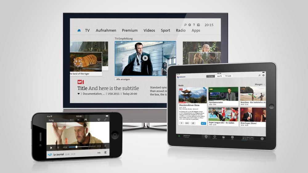Swisscom TV 2.0 - Fernsehgenuss auf allen Geräten