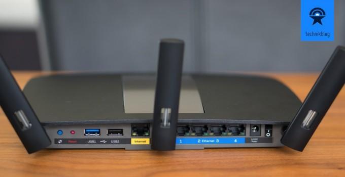 Linksys EA6900 Smart Wi-Fi Router - Anschlüsse