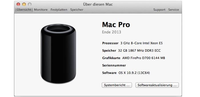 Mac-Pro-Testmodell