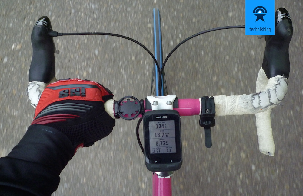 Der Garmin Edge 510 Bikecomputer