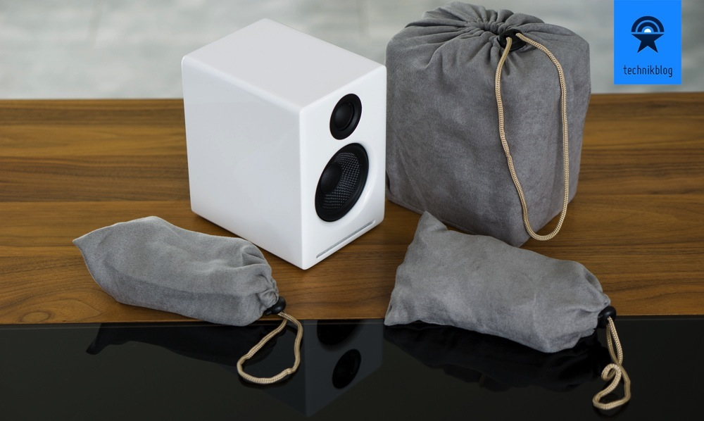 Audioengine A2+ - wunderschön und liebevoll verpackt werden sie geliefert