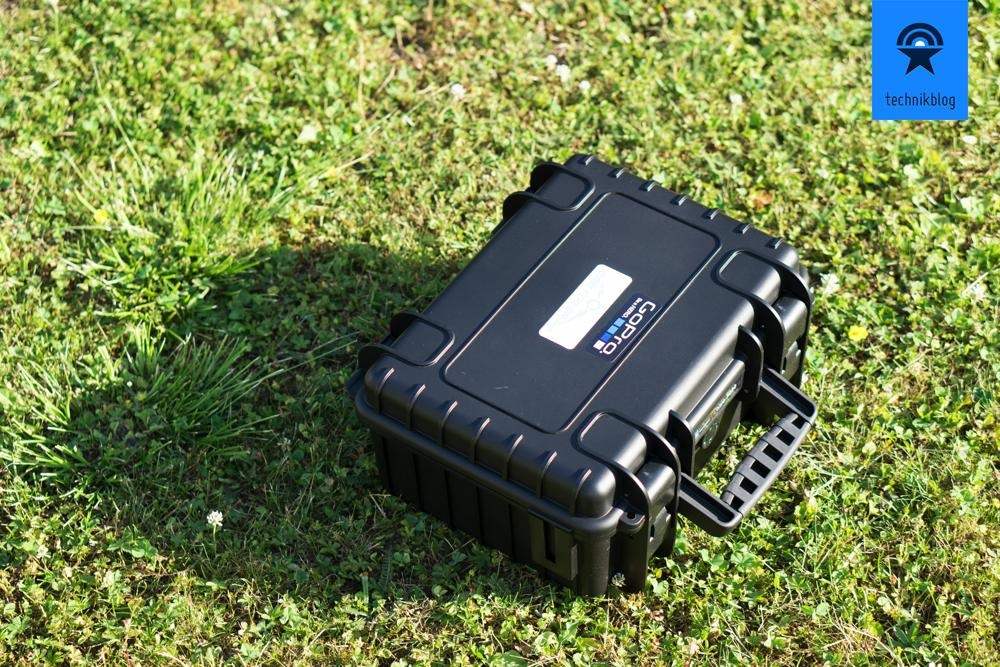 B&W Outdoor Case 3000 - Koffer für 2 GoPros und viel Zubehör