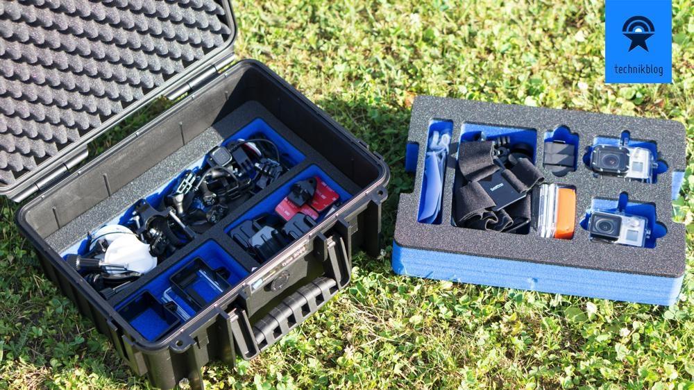 B&W Outdoor Case 3000 - zwei Schichten für viel Zubehör