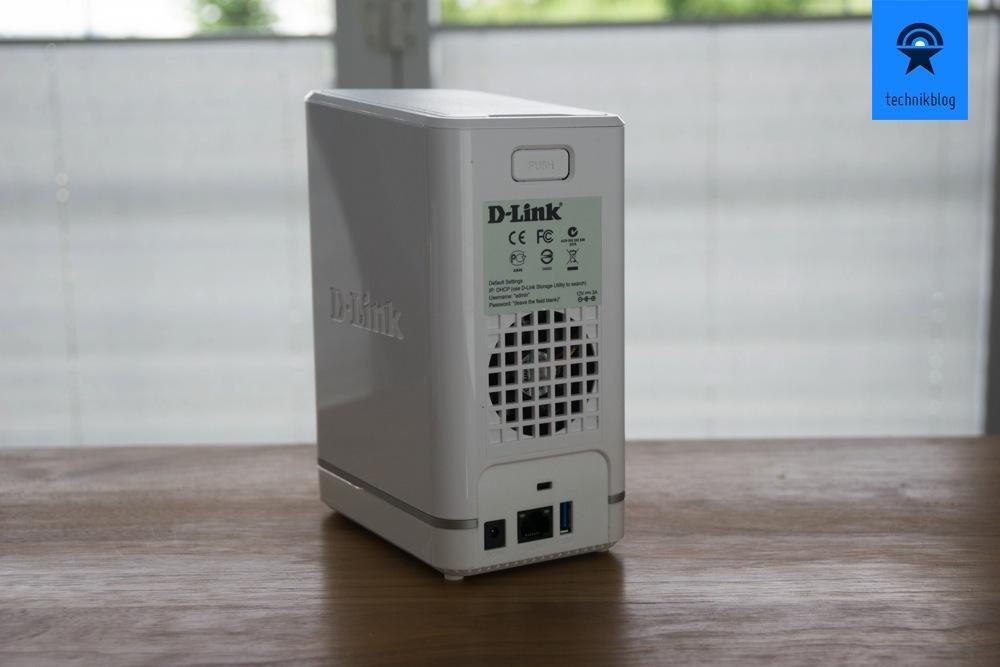 D-Link DNS-327L Sharecloud - Anschlüsse
