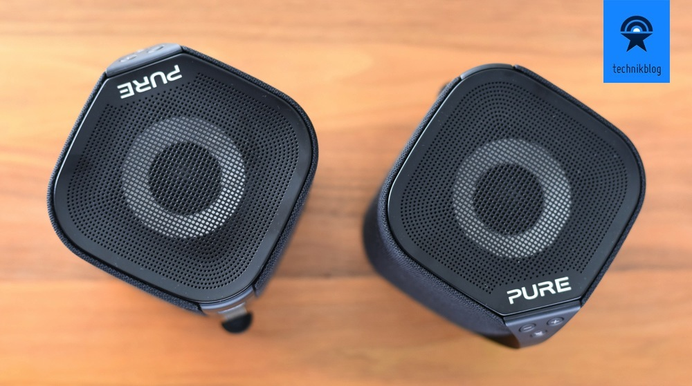 Pure Jongo S3 können als Stereo-Paar genutzt werden.