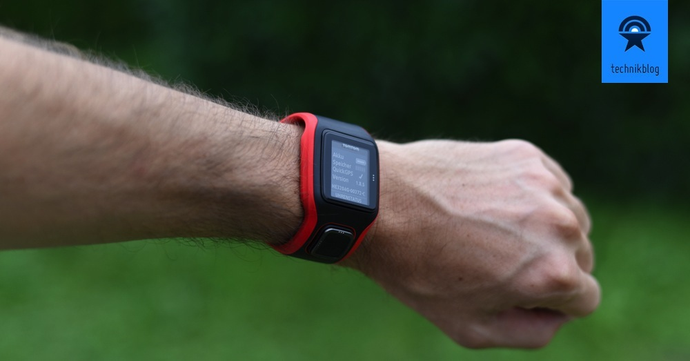 Review zur TomTom Runner Cardio