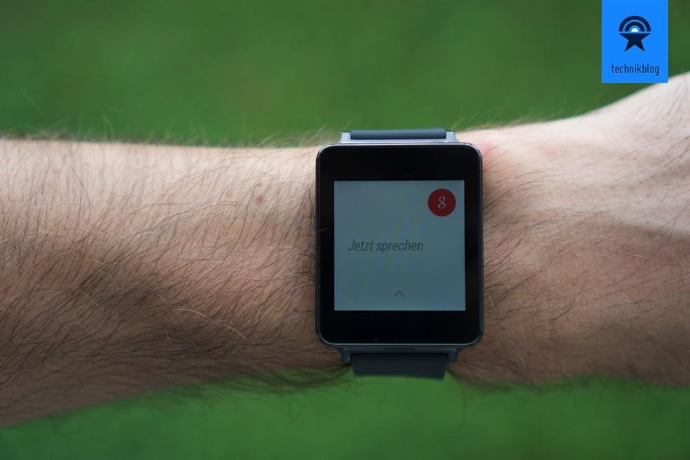 """""""OK Google"""" Sprachsteuerung mit der LG G Watch"""