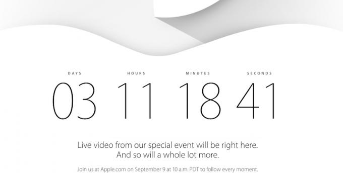 Apple Special Event vom 9.September 2014