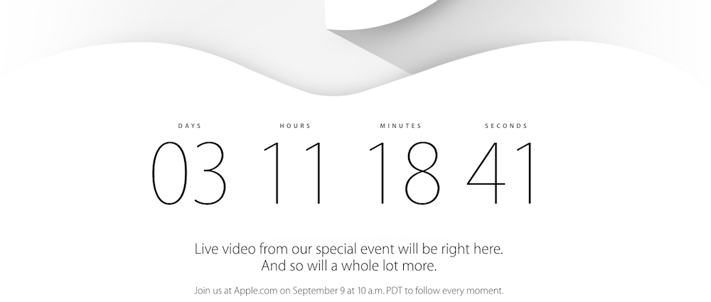 Apple Special Event vom 9.September 2014