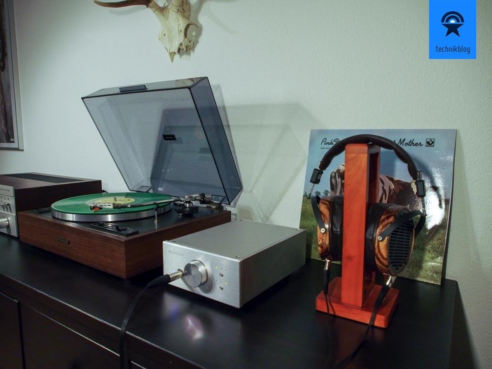 Testsetup: LCD-3 und Burson Audio Verstärker