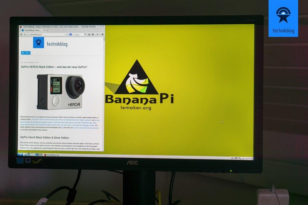 Linux läuft stabil und einwandfrei auf dem Banana Pi