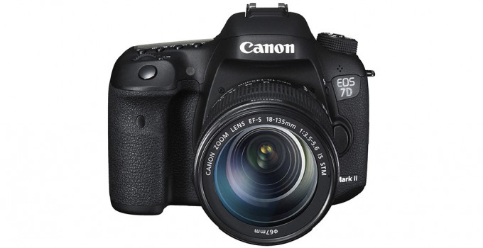 Canon EOS 7D-Mark II Front