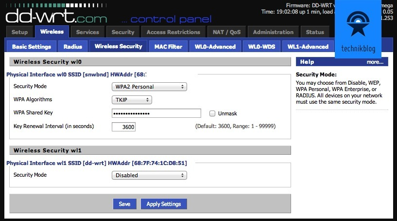 DD-WRT on Linksys EA6900