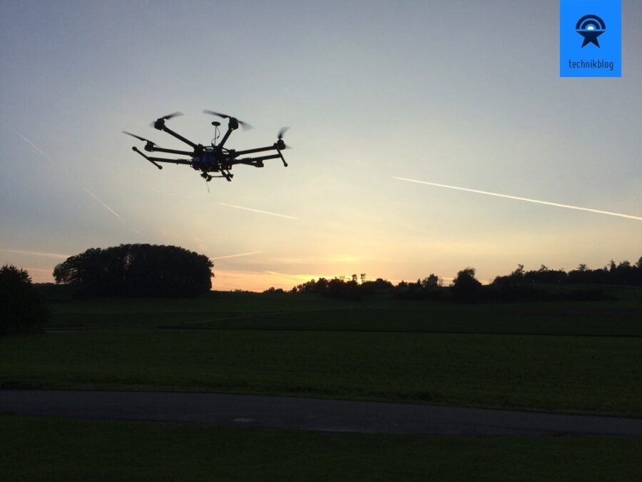 DJI S900 Maidenflight