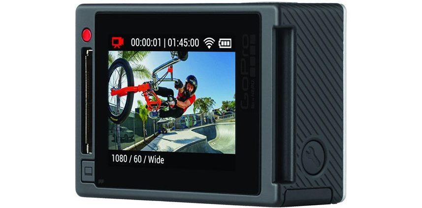 GoPro Hero4 Black Edition mit eingebautem Touch-Screen-Display