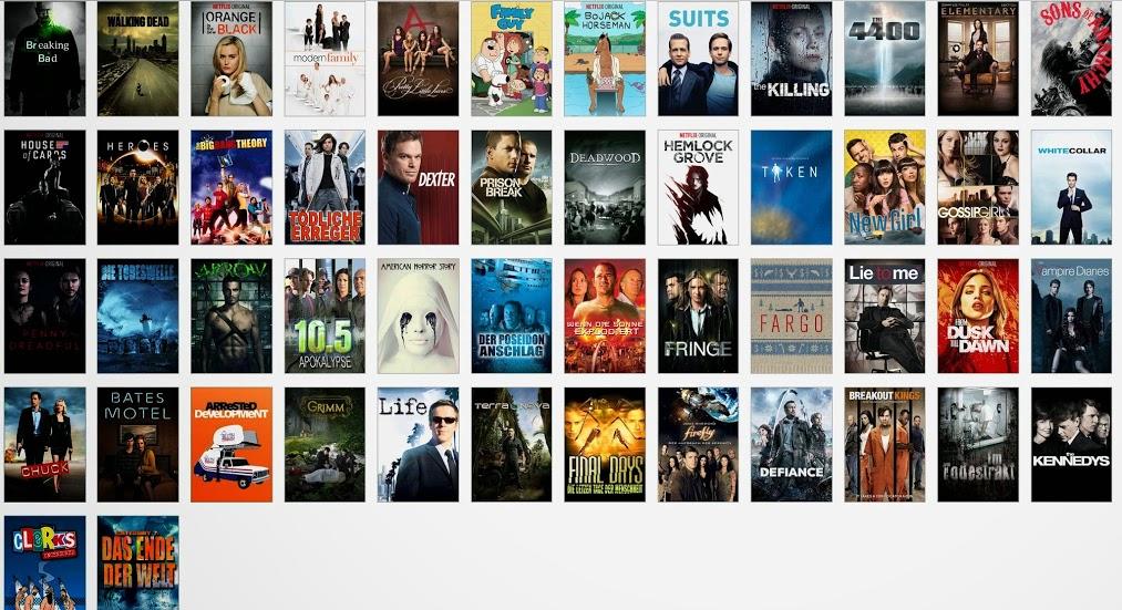 Alle Netflix Serien