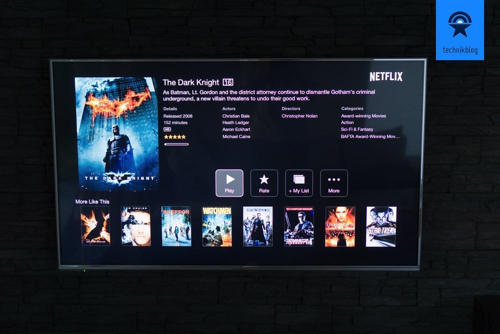 Netflix auf dem Apple TV