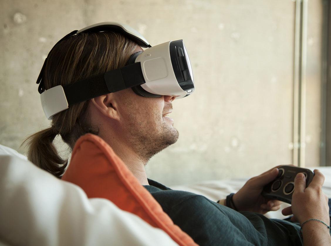 Samsung Gear VR im Einsatz