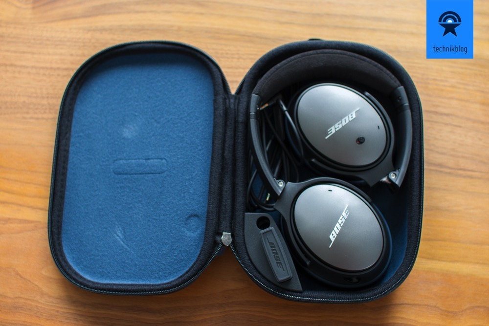 Lieferumfang: Bose QuietComfort 25 Headphones