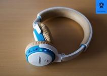 Die rechte Ohrmuschel ist Dreh- und Angelpunkt des SoundLink On-Ear.