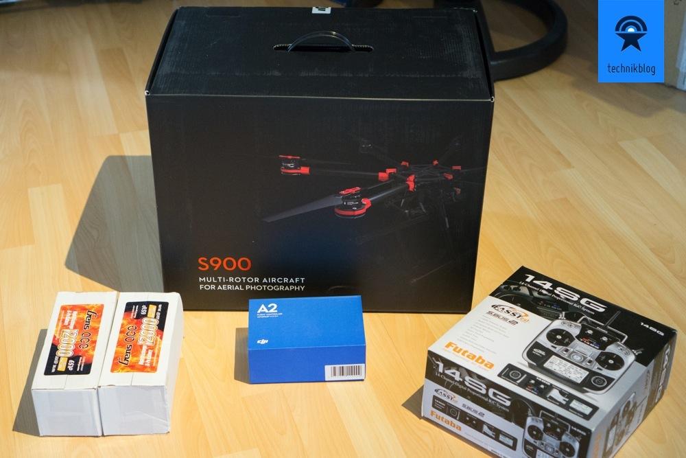 DJI S900 Grundsetup