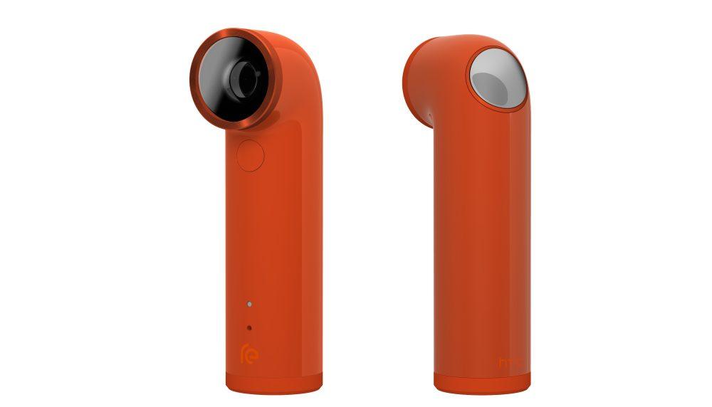 HTC RE Camera in orange