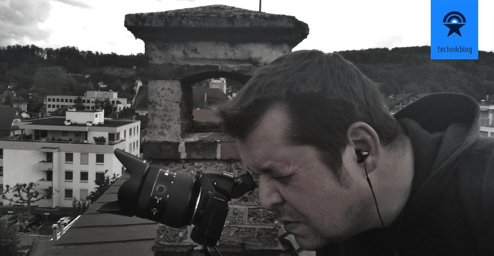 Martin Gessler bei der Arbeit zu Brugg in Motion