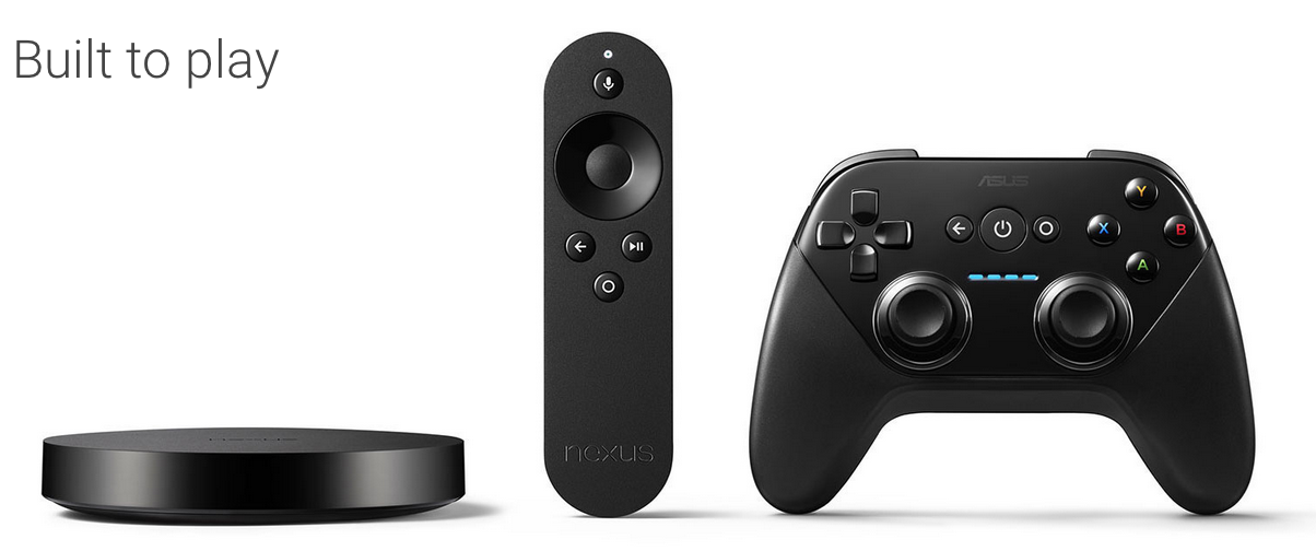 Nexus Player und Controller