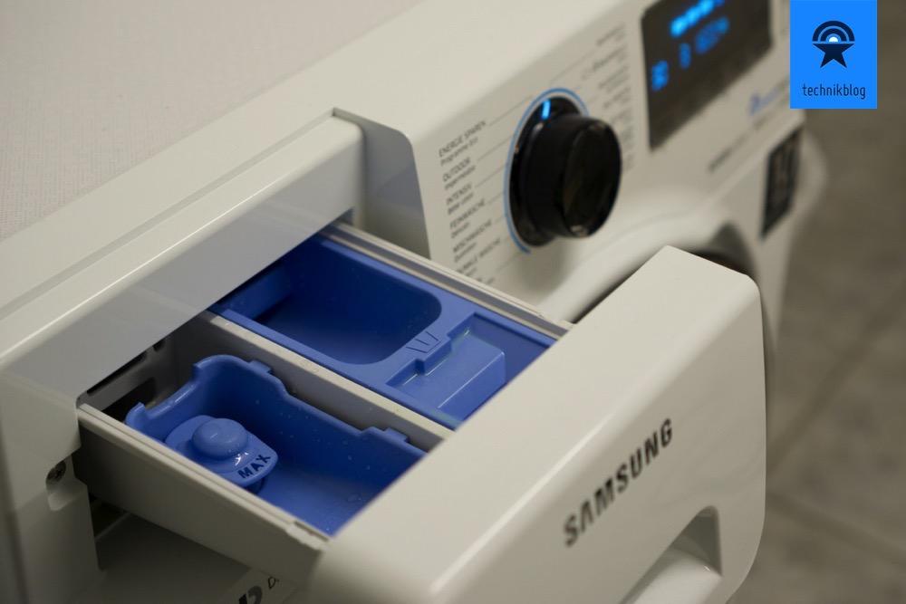 Mit dem Dosierer spare ich Waschmittel