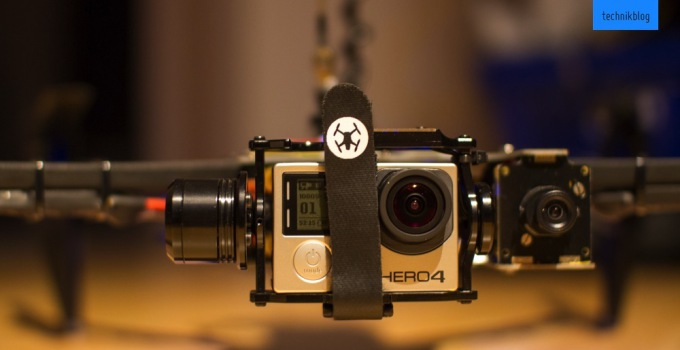 GoPro Hero4 Black am TBS Discovery Pro