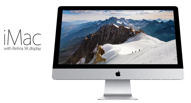 iMac mit 5K Retina display
