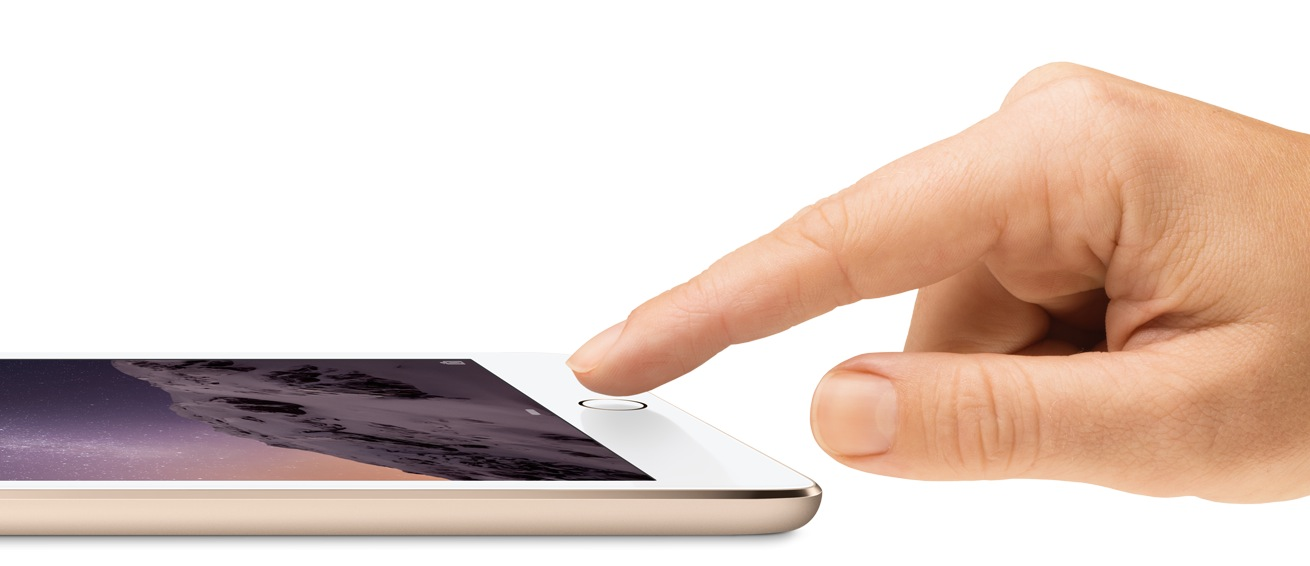 iPad Air 2 mit Touch-ID