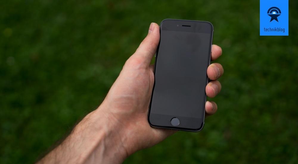 Das iPhone 6 ist gegenüber den bisherigen Modellen schon stark gewachsen...
