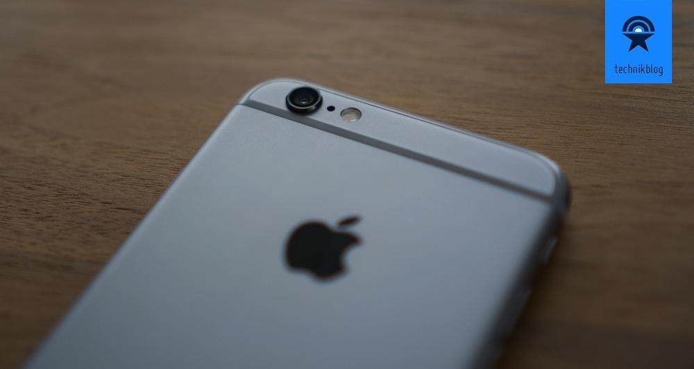 Die Linse an beiden iPhone 6 Modellen steht etwas hervor.