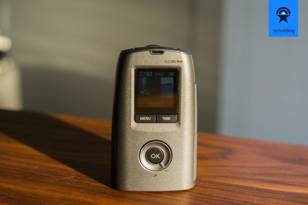 Einfache Bedienung der Timelapse Kamera dank LCD Display.