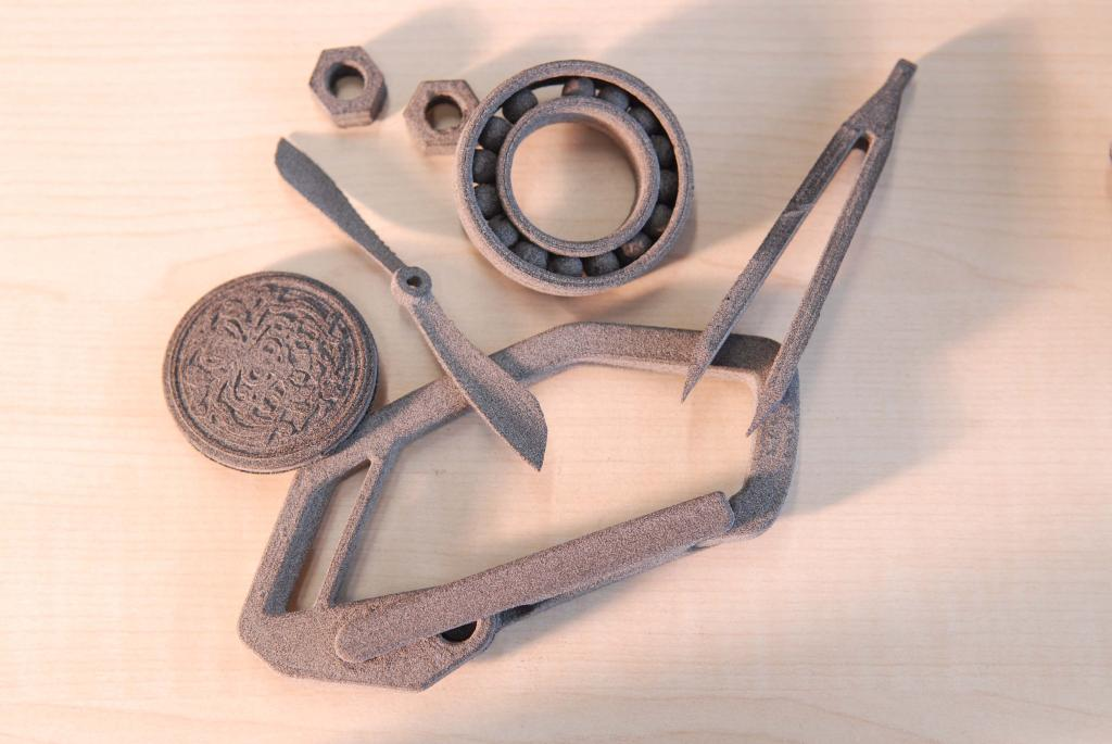 Druckerzeugnisse aus dem Sintratec 3D Drucker