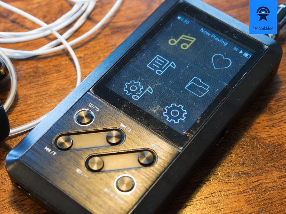 FiiO X3 - durch den täglichen Gebrauch ist meiner bereits etwas abgenutzt.