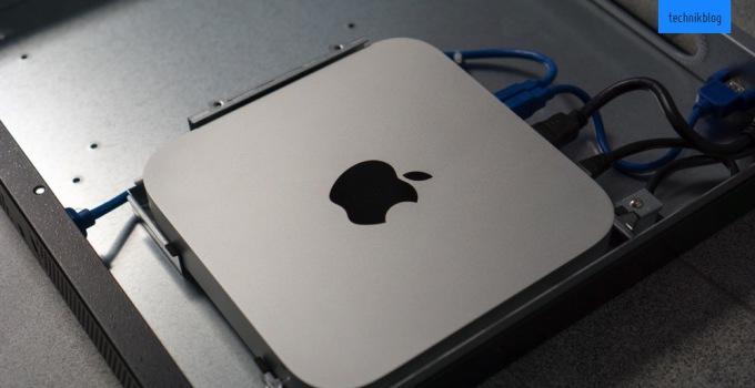 LMP iRack 100 mit meinem Mac Mini