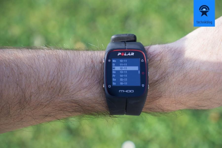 Polar M400 GPS Uhr