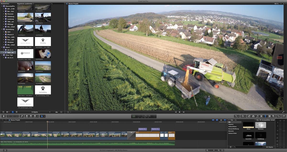 Screenshot - 4K Videobearbeitung am neuen iMac 5K Retina