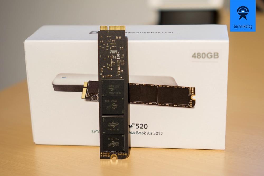 Transcend JetDrive SSD Upgrade Kit fuer MacBook Air