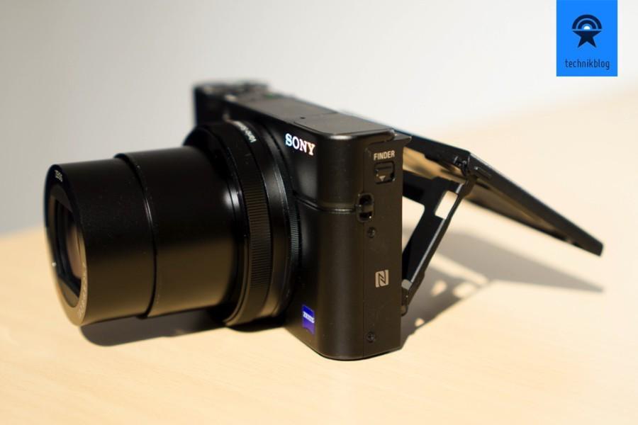 Die Sony RX100M3 macht dank digitalem Sucher und neigbaren Display immer Spass.