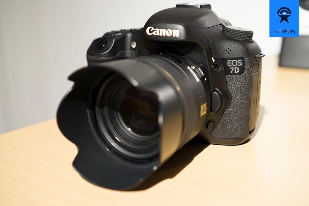 Die ideale Reisekamera - Canon EOS 7D
