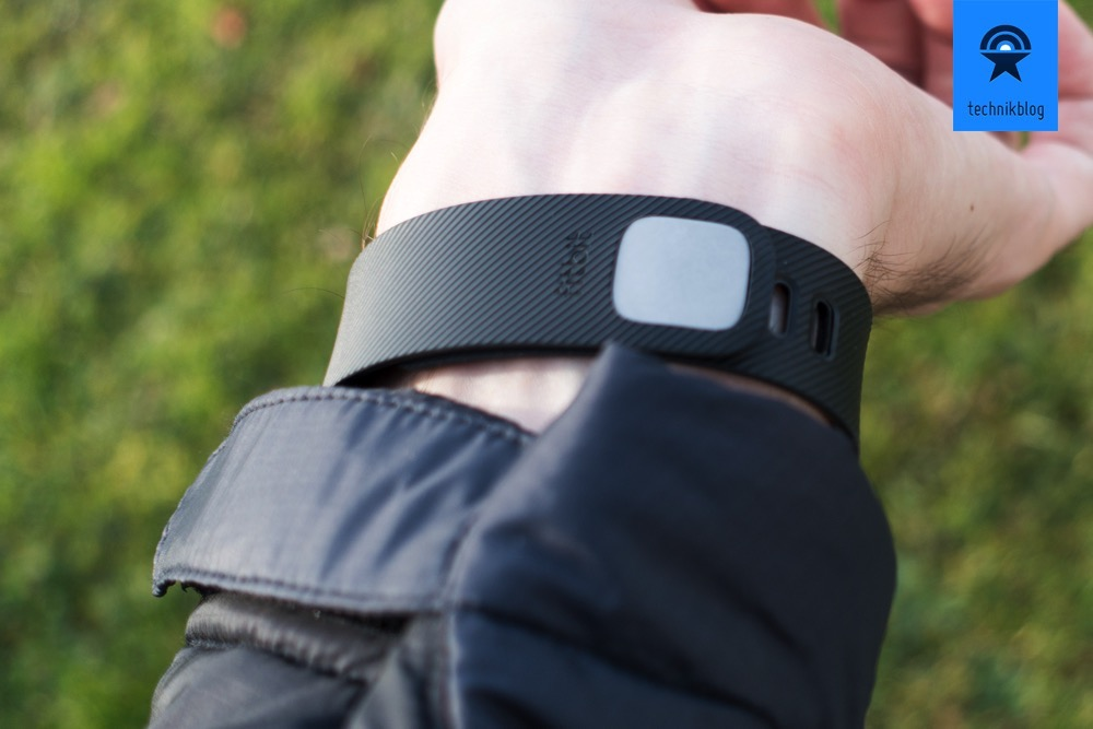 Angenehm zu tragen und ein guter Verschluss: Fitbit Charge