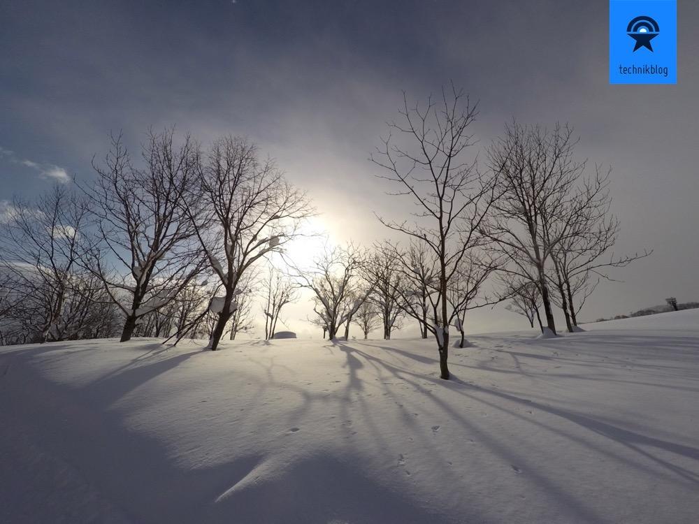 GoPro Hero4 Bild entzerrt mit Lightroom Profilkorrektur