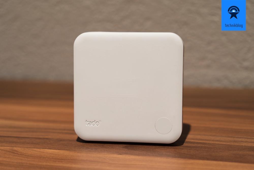 Tado, das smarte Thermostat ist batteriebetrieben.