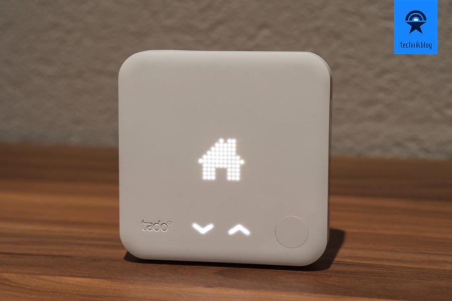 Tado - smartes Thermostat im Wohnzimmer